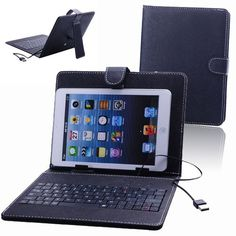 Introducing 80key Protection Stand Leather Case Cover with Keyboard for 8 inch Tablet PCBlack. Great product and follow us for more updates!