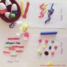 Per i #30giornidimontessori  oggi coloriamo con il pongo!   Si avvicina la Pasqua e questa attività è decisamente pasquale, potrebbe anc...
