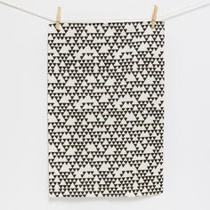 tea towel | triangles - a sunny afternoon