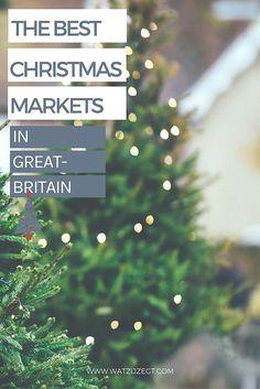 10 kerstmarkten in Groot-Brittannië die je wil bezoeken