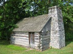 Daniel Boone's Cabin, Nicholas County.