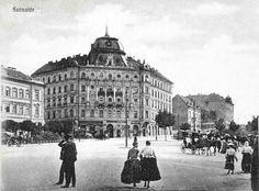 Ilyen is volt Budapest - 1910 körül, Széna tér Old Pictures, Old Photos, Vintage Photos, Vintage Architecture, Budapest Hungary, Old Buildings, Vintage Photography, Historical Photos, The Past