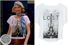 Shop Your Tv: Awkward: Season 3 Episode 1 Valerie's Lost in Love Paris Tee