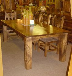 Mission Southwest Dining Furniture For the Home Pinterest