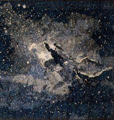 Ibolya Hegyi, tapestry, Galaxy I