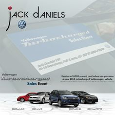 CATCH THESE #DEALS WHILE YOU CAN!! #VWTURBOCHARGEDSALESEVENT #JACKDANIELSVW