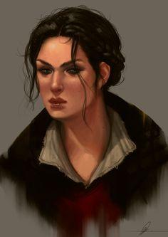 Evie Frye by jodeeeart