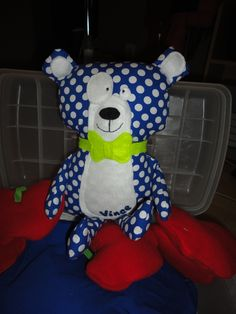 Homemade teddybear :-)!