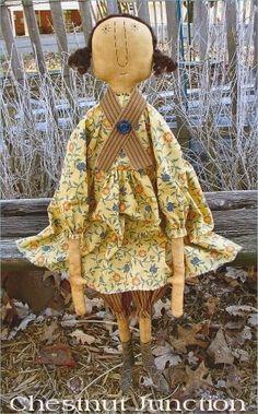 Lovely primitive doll