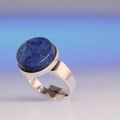 Vintage David Andersen Silver and Sodalite Ring  Fabulous vintage David Andersen ring now available at www.koru-jewellery.co.uk