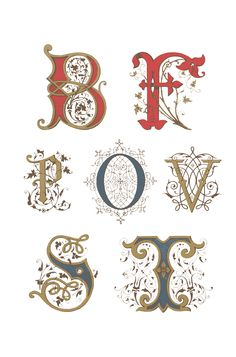 French capital letters 1882. From Gunnvor Karita at wingsofwhimsy.com. This site has many beautiful lettering examples and downloads.