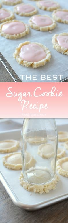 The best sugar cookie recipe - swig style Cookies Cupcake, Swig Sugar Cookies, Cookies Et Biscuits, Yummy Cookies, Drop Cookies, Best Sugar Cookie Recipe, Cookie Recipes, Baking Recipes, Amish Recipes