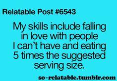 My advanced skill set.