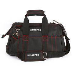 comprar Workpro 16 pulgadas Bolsas de herramientas del electricista Bolsas  de herramientas Organizadores cbab6f259b47