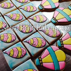 Oh, the Places You'll Go! Dr. Seuss cookies