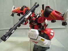 HGUC 1/144 Rick Dias with parts from the GP02A Physalis Gundam