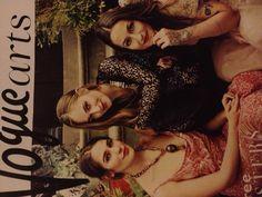 Bohemian Vogue: Jemima, Lola and Domino Kirke