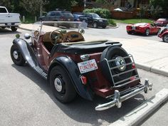 Kit car replica of a MG TD rear by dave_7, via Flickr