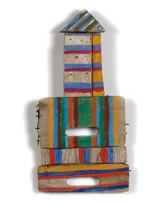 BETTY PARSONS Wall Sculptures, Sculpture Art, Kitsch, Found Object Art, Cool Art Projects, Recycled Art, Abstract Expressionism, Altered Art, Wood Art