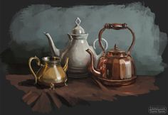 ArtStation - Still life, Eugenia Mironova