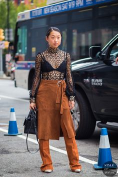 New York Fashion Week SS 2016 Street Style: Margaret Zhang