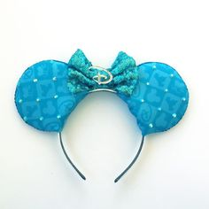 Disney Mickey Ears Disneyland Inspired Ears by ToNeverNeverland
