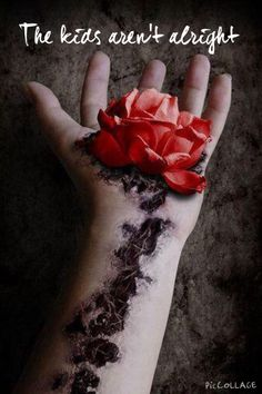 The palm of my Rose by ShiXemo on DeviantArt Writing Inspiration, Character Inspiration, Wallpaper Bonitos, Wilted Rose, Growth And Decay, 2 Clipart, Dark Photography, Horror Photography, Gothic Art