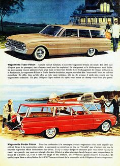 1960 Ford Falcon Station Wagons