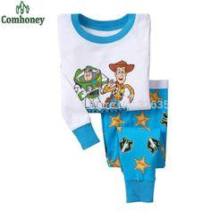 6f55b7aabf Baby Pajamas Boys Buzz Lightyear Children Toy Story Long Sleeve Pyjamas  Girls Sleepwear Soccer Jerseys Kids Pijamas Clothing Set-in Pajama Sets  from Mother ...