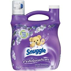 Snuggle 1326089 Exhilarations Fabric Softener Liquid - White Lavender & Sandalwood - for sale online Vanilla Orchid, Wild Orchid, Fabric Softener, Printable Coupons, Laundry Detergent, Snuggles, Cleaning Supplies, Things That Bounce, Household Items