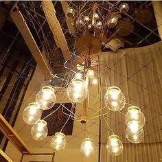 Fabricación de la lámpara colgante para el Hotel H10 de Cambrils. www.dajor.es #lamparasvintage #dajorlightingfactory #lampara #lamparacolgante #lamparavintage #hotel #hotelh10