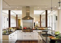 Chef's Kitchen via Houzz