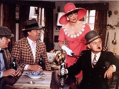 The Olsen Gang (Danish: Olsen-banden) is a fictional Danish criminal gang in the eponymous film series. Little Dogs, Danish, Actors & Actresses, Cowboy Hats, Fiction, Retro, Movies, Poster, Collection