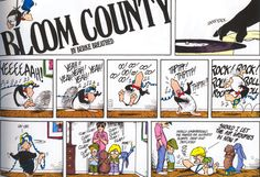 Love Bloom County (and Opus most of all! Bill The Cat, Berkeley Breathed, Cartoon Memes, Cartoons, Book Value, Comic Page, Fun Comics, American Comics, Calvin And Hobbes