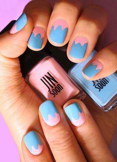 beautyeditordotca: Two Easter egg nail art ideas that are...