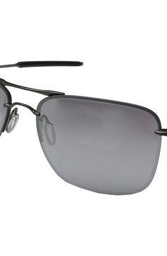 Oakley TailHook (Carbon w/Chrome Iridium) Sport Sunglasses - Oakley, TailHook, OO4087-06, Eyewear Sport General, Sport Eyewear, Sport, Eyewear, Gift - Outfit Ideas And Street Style 2017