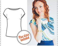 Skirt Patterns Sewing Tutorials Pencil by DressyTalkPatterns