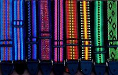 Guitar straps from Annie MacHale