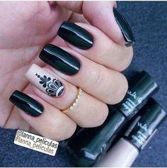 N a i l piercing in spanish - Piercing Gel Uv Nails, Nail Manicure, Diy Nails, Acrylic Nails, Love Nails, Pretty Nails, Nail Harmony, Tribal Nails, Nail Polish Art