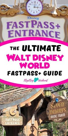 Learn how to use FastPass at Walt Disney World with this complete guide. This post will walk you through how to get FastPasses, along with tips and strategies to maximize FastPass for a better Walt Disney World Travel experience for your family. Voyage Disney World, Fastpass Disney World, Disney World Planning, Walt Disney World Vacations, Disney World Trip, Disney World Resorts, Disney Travel, Disney World Guide, Disney Parks