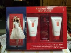 Elizabeth Arden Red Door 3 Pc Perfume Gift Set ( Eau De Toilette Spray Oz + Perfumed Body Lotion Oz + Shower Gel Oz ) from brand. Taylor Swift Perfume, Elizabeth Arden Red Door, Perfume Gift Sets, Perfume Collection, Gadget Gifts, Shower Gel, Sprays, Body Lotion, Led