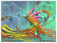 Bryce-fractal-x No.25 Stalks 2 -i- C Tropical 2 Digital Art by ...
