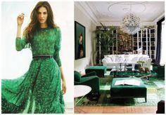 Pantone 17-5641 #esmeralda #emerald   http://casadasamigas.com/