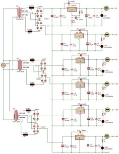 Electronic Circuit Projects, Electronic Engineering, Cool Electronics, Electronics Projects, Battery Charger Circuit, Train Light, Electronic Shop, Speaker Design, Cruise Control