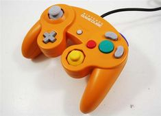 Spice Orange GameCube Controller