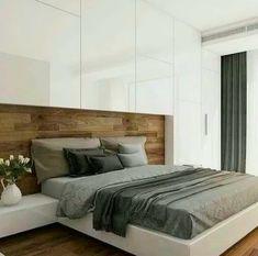 Impressive Concepts For an Glorious Couple Bedroom Interior Design Wardrobe Design Bedroom, Modern Bedroom Design, Bed Design, Contemporary Bedroom, House Design, Bedroom Designs, Fitted Bedroom Furniture, Fitted Bedrooms, Room Interior