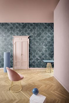 PALE BLUE EYES #wallcovering #wallpaper #cartadaparati #cartedaparati