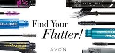 Length? Volume? Waterproof? No matter what type of look you're going for, make sure your lashes are flawless with Avon mascara. Use the Find Your Flutter tool to find the perfect combination between brush and formula.