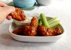 Chicken Wings and Football. A match made in heaven.