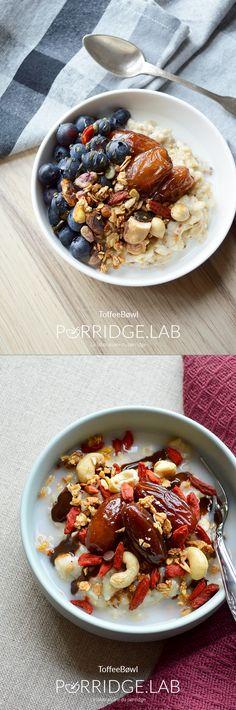 ToffeeBøwl – Mon pørridge au caramel de dattes